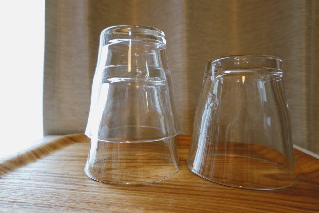 無印良品の日本製グラス