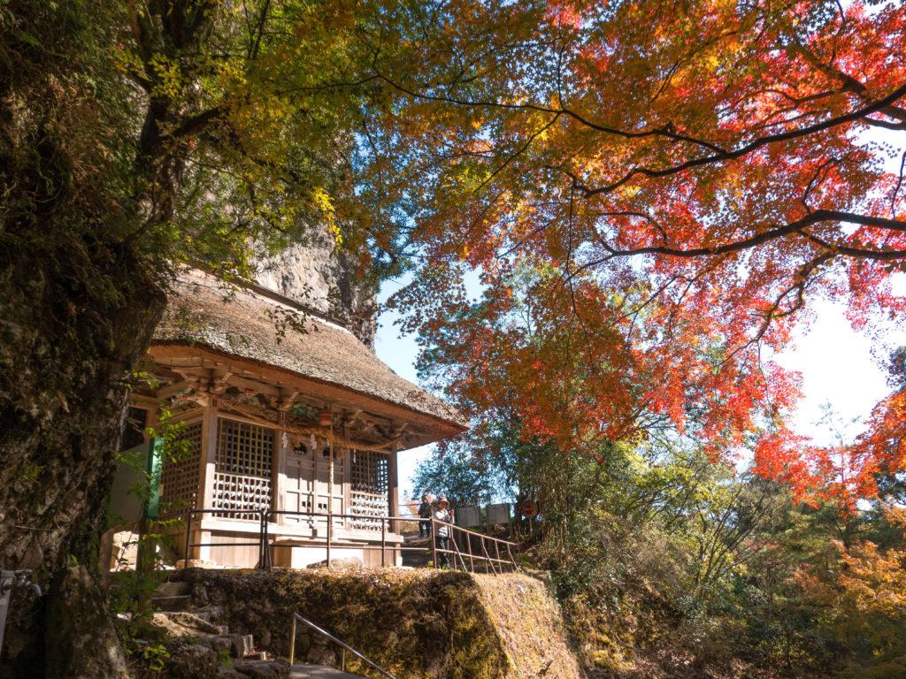 岩屋神社本殿-福岡県朝倉郡東峰村宝珠山