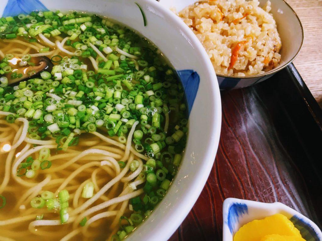 升風庵の蕎麦