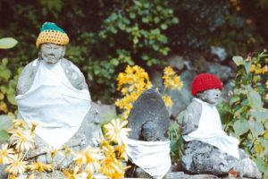 福岡県 別格本山鎮国寺、秋の装い