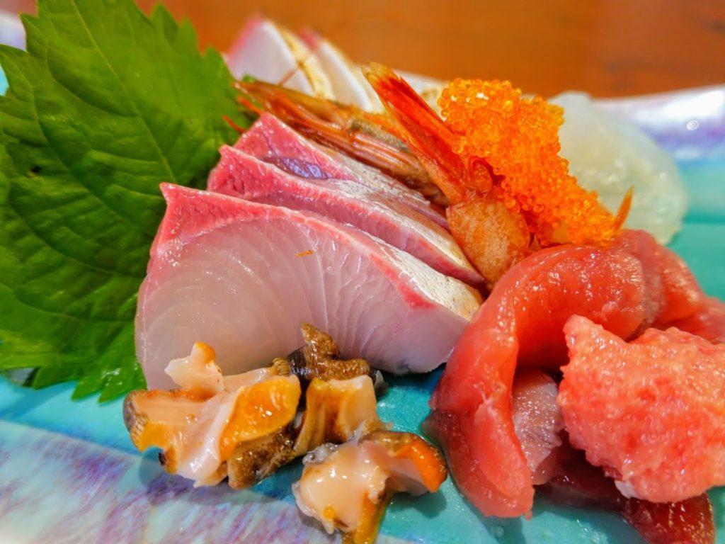 「壽や 三郎」の刺身定食