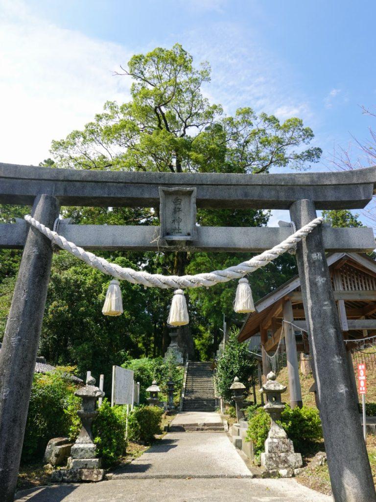 臼杵神社鳥居
