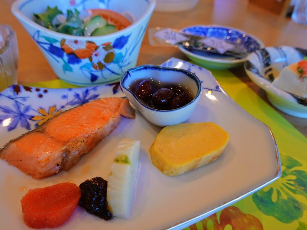 国東半島 梅園の里 朝食