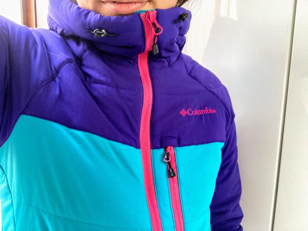 コロンビアの冬用ジャケット