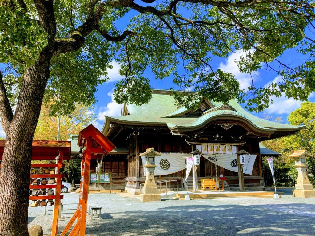 豊山八幡神社社殿