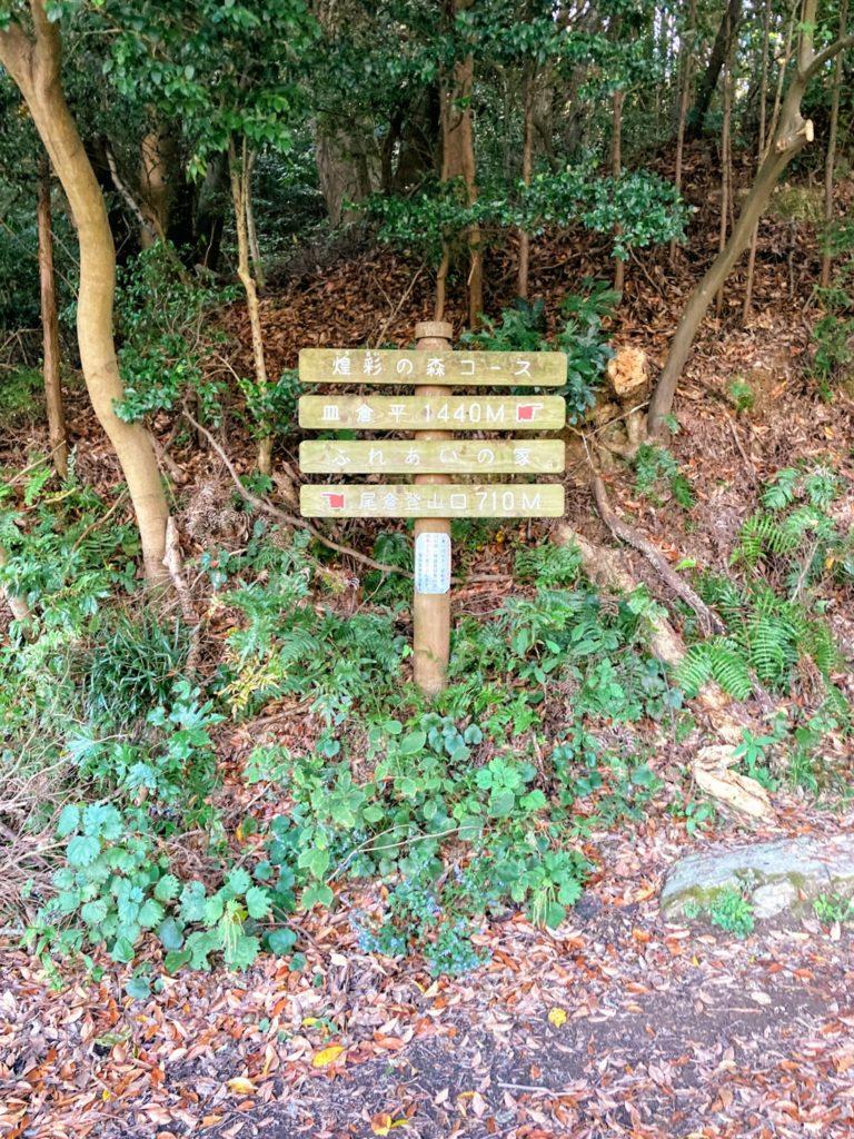 煌彩の森コース 看板