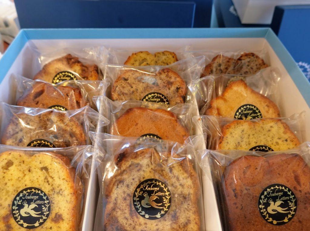 八幡西区でおしゃれなギフト用の雑貨・焼き菓子におすすめ「つばめレターズ」さんのパウンドケーキ