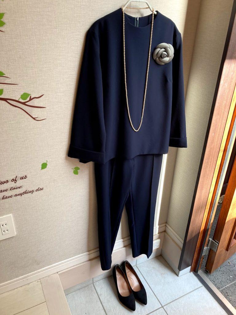 40代母の卒園式コーデ