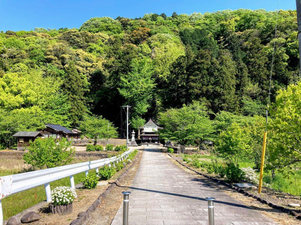 福岡県豊前市の千手観音堂に行ってきました
