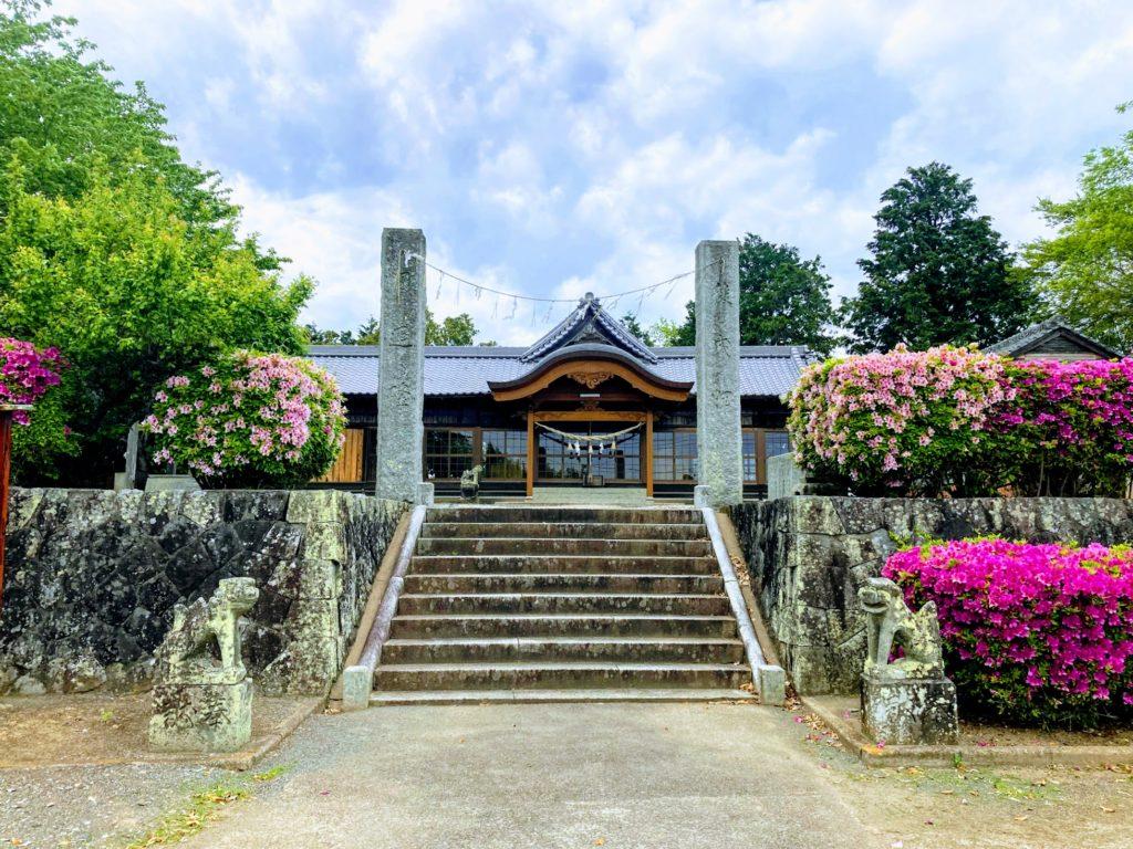 福岡県上毛町の吉富神社