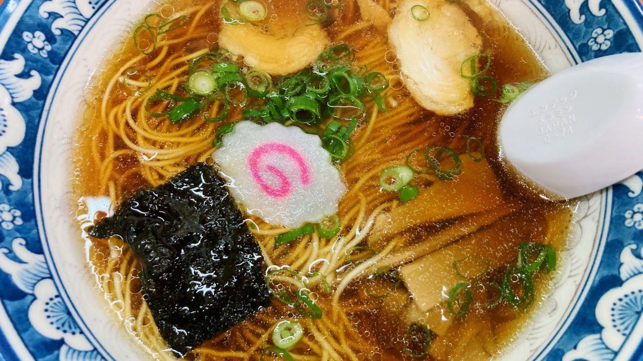 豊前市の中華料理「酒楽亭」の絶品中華そば